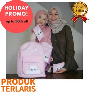Harga best seller tas ransel cat 4in1 tas anak sekolah smiggle tas anak   merah   HARGALOKA.COM