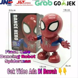 Harga Mainan Robot Dance Ironman Spiderman Bumblebee Super Hero Katalog.or.id