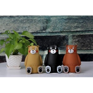 Harga portable bear wireless bluetooth speaker with mini humidifier diffuser     HARGALOKA.COM