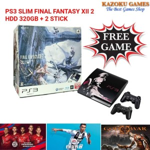Harga ps3 slim final fantasy xiii 2 320gb 2 stick full | HARGALOKA.COM