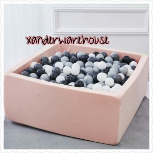 Harga ballpit kotak handmade premium   kolam bola mandi mainan   HARGALOKA.COM