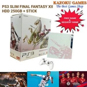 Harga ps3 slim final fantasy 250gb cfw terbaru   | HARGALOKA.COM
