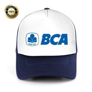 Harga topi trucker jaring bca bank central asia   | HARGALOKA.COM