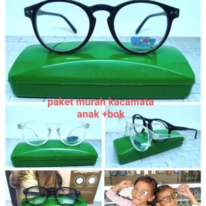 Harga kacamata sunglasses anak model bulat opal yz321 lensa bening   | HARGALOKA.COM
