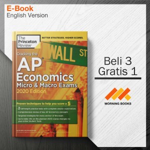 Harga cracking the ap economics micro amp macro exams 2020 edition | HARGALOKA.COM