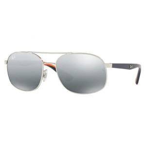 Harga ray ban original sunglass aviator rb 3593 9101 58 blue orange   HARGALOKA.COM