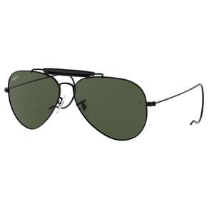 Harga ray ban original sunglass outdoorsman rb3030 l9500 s58 black   HARGALOKA.COM