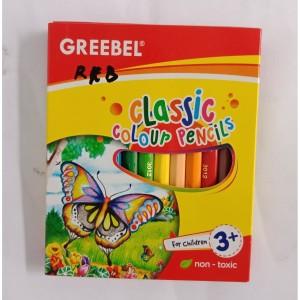 Harga pensil warna greebel classic 12 | HARGALOKA.COM