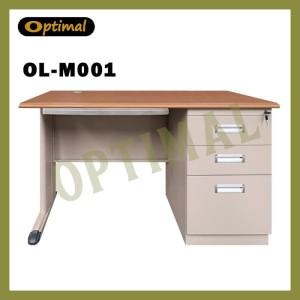 Harga meja kerja kantor 1 2 biro plat besi ol m001 | HARGALOKA.COM