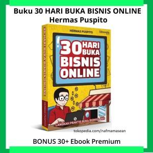 Harga buku 30 hari buka bisnis   HARGALOKA.COM