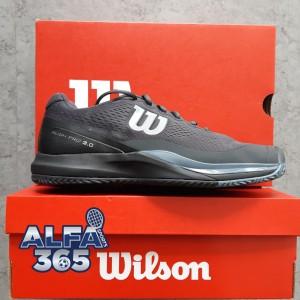 Harga sepatu tenis wilson rush pro 3 0 ebony black | HARGALOKA.COM