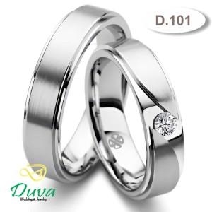 Harga cincin kawin nikah tunangan couple emas putih 25 dan perak d | HARGALOKA.COM