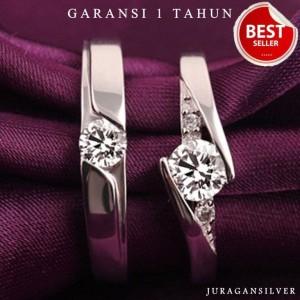 Harga cincin kawin couple perak palladium emas nikah pasangan | HARGALOKA.COM