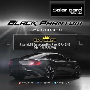Harga solargard black phantom kaca film varian | HARGALOKA.COM