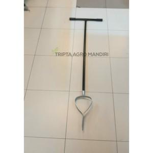 Harga alat bor lubang tanah biopori bentuk hati dia 15cm auger   HARGALOKA.COM