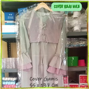 Harga mika plastik transparan pelindung cover baju gamis dewasa | HARGALOKA.COM