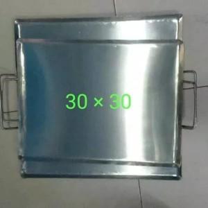 Harga wajan plat persegi uk 30x30 roti bakar sosis | HARGALOKA.COM