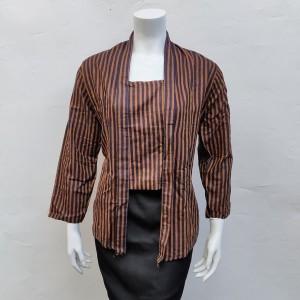 Harga kebaya lurik tenun adat jawa murah baju kebaya lurik murah   | HARGALOKA.COM