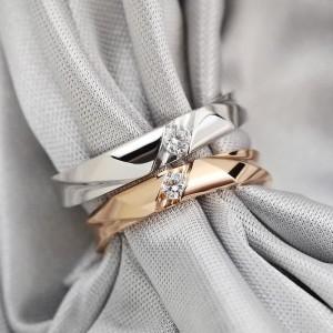 Harga cincin kawin nikah tunangan couple emas 50 dan perak m | HARGALOKA.COM