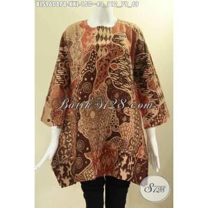 Harga batik blouse istimewa model a untuk wanita gemuk size xxl | HARGALOKA.COM