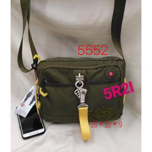 Harga tas selempang tough army 5552 sling bag jeansmith taf tuff tuf   hijau | HARGALOKA.COM