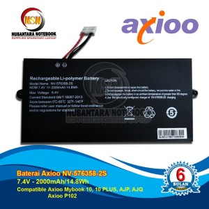 Harga baterai axioo mybook 10 10 plus ajp ajq axioo p102 oem | HARGALOKA.COM