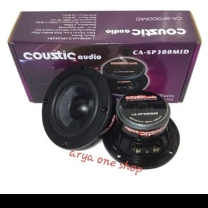 Harga speaker mid reng  coustic audio 3 34  high quality  arya one   HARGALOKA.COM