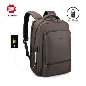 Harga tigernu t b3585 backpack bag usb   tas ransel laptop 15 6 34   | HARGALOKA.COM