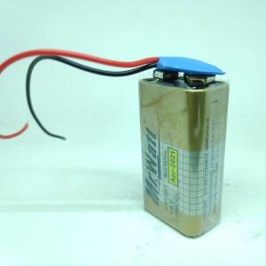 Harga baterai 9v batre kotak 9 volt battery mr watt kancing soket | HARGALOKA.COM