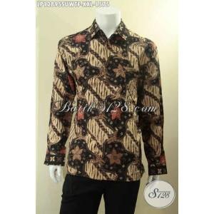 Harga baju batik tulis sutra mewah size xxl spesial pria gemuk | HARGALOKA.COM
