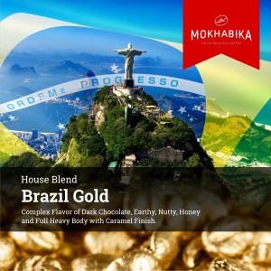 Harga mokhabika brazil gold arabica house blend 1000 | HARGALOKA.COM