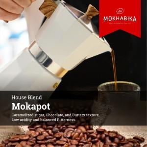 Harga mokhabika specialty mokapot coffee house blend 1000 | HARGALOKA.COM