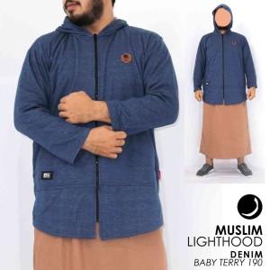Harga baju koko pakistan jaket muslim lighthood jumbo m   xxl brand rosal   hitam | HARGALOKA.COM