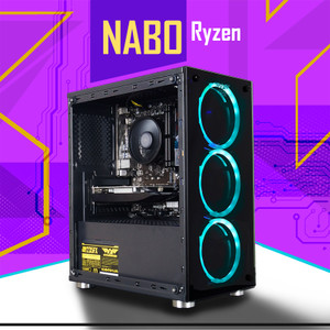 Harga pc gaming ryzen 5 3400g vega 11 8gb ssd gaming design pc   | HARGALOKA.COM