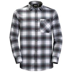 Harga kemeja jack wolfskin light valley kemeja flanel outdoor kemeja | HARGALOKA.COM