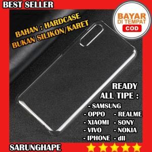 Harga clear hard case casing transparan all tipe hp samsung oppo xiaomi | HARGALOKA.COM