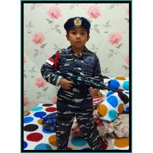 Harga baju tentara anak baju tni al loreng kostum loreng tni angkatan laut   | HARGALOKA.COM