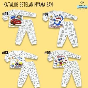 Harga setelan baju piyama anak bayi baju tidur lengan panjang   katalog   HARGALOKA.COM