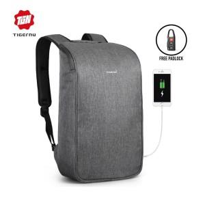 Harga tigernu t b3385 backpack bag usb   tas ransel laptop 15 6 34   | HARGALOKA.COM