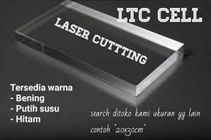Harga acrylic laser 3mm 50x70cm akrilik | HARGALOKA.COM