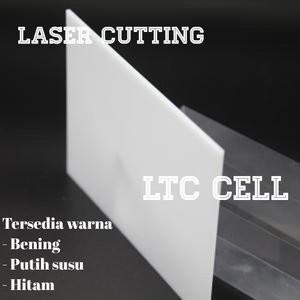 Harga acrylic laser 5mm 50x70cm akrilik putih | HARGALOKA.COM