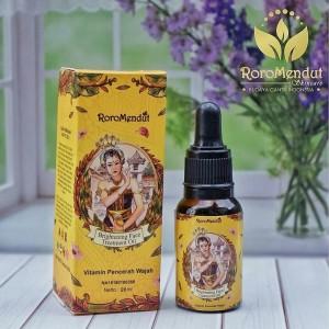 Harga brightening face treatment oil roro mendut serum pencerah | HARGALOKA.COM