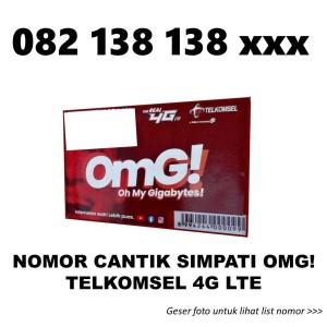 Harga nomor cantik simpati telkomsel 4g lte kartu perdana nomer rapih | HARGALOKA.COM