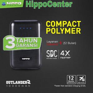 Harga hippo power bank outlander 2 10 000mah hippo powerbank   | HARGALOKA.COM