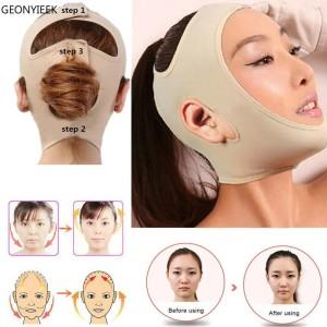 Harga delicate facial thin face mask slimming bandage skin penirus wajah new   nude   HARGALOKA.COM