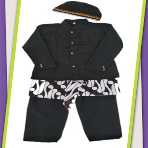 Harga baju adat jawa baju basofi cak anak paud tk   tampa | HARGALOKA.COM