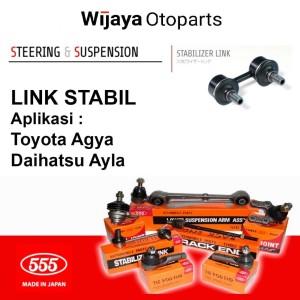 Harga link stabilizer link stabil agya ayla 555   HARGALOKA.COM