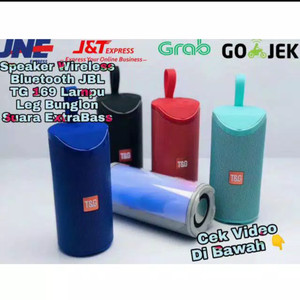 Harga speaker bluetooth jbl tg 169 plus led music box speker | HARGALOKA.COM