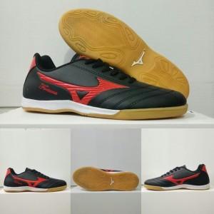 Harga bonus deker grad ori sepatu futsal mizuno murah awet dan nyaman   hitam   HARGALOKA.COM