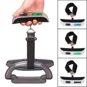 Harga digital luggage scale timbangan koper bagasi 50kg model | HARGALOKA.COM